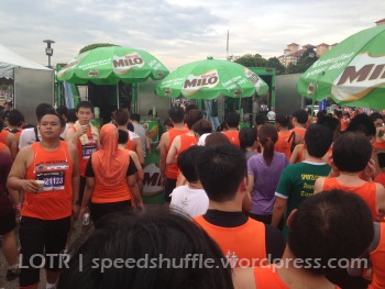 The Milo van - an institution at every Malaysian sporting event
