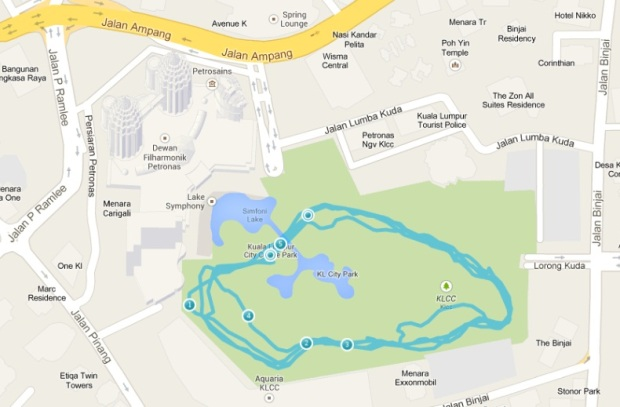 5K at the KLCC park (click for larger image)