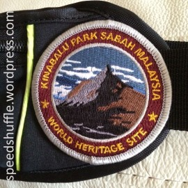 For me, running started during Kinabalu training. Being a bit sentimental and all, a badge sewn onto my running belt reminds me how it all started with me just planning for my knees to survive the assault.