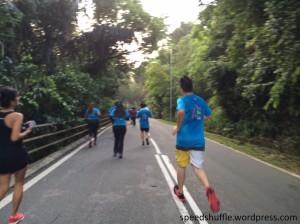 Downhill at Jalan Tun Ismail, returning to Jalan Dato' Onn. Gotta love the greenery.