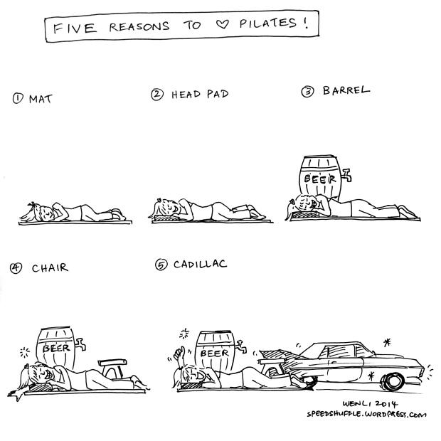 Five very good reasons.