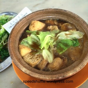 My regular post-run recovery lunch - Bak Kut Teh! (I particularly love the one at Chuan Chiew Restaurant in ss14, Subang)