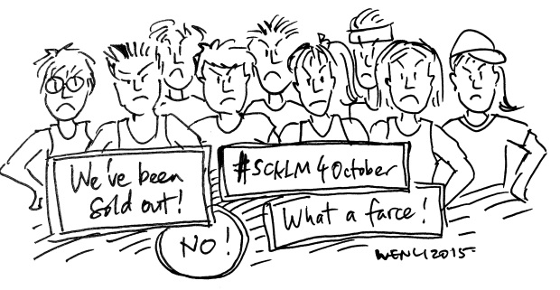 #SCKLM4October. Drawing by me.